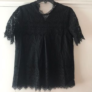 Pleione Lace Top